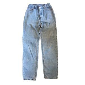 Vintage Levi's 550 High Rise Mom Jeans- Orange Tab